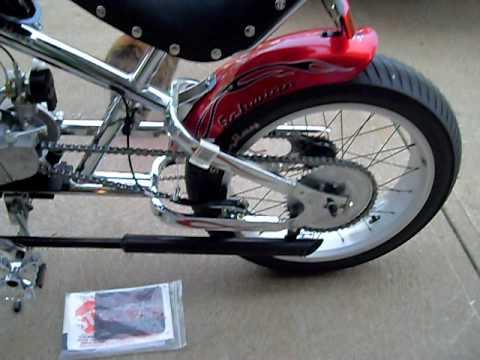 New Schwinn Stingray Occ Motorized Bicycle Youtube