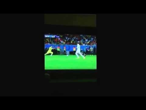 Casillas Mistake world cup 2014