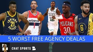 5 Worst Signings In 2019 NBA Free Agency Feat. Terry Rozier, Julius Randle & Thaddeus Young