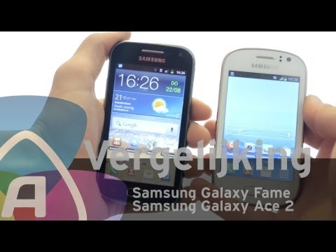 Samsung Galaxy Fame vs Samsung Galaxy Ace 2 review (Dutch)