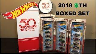 Hot Wheels 2018 - Super Treasure Hunt Boxed Set Opening & Review