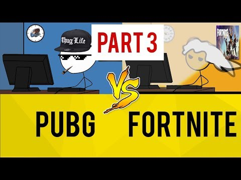 PUBG Gamers vs Fortnite Gamers - PART 3