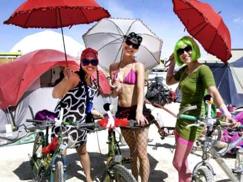 Burning Man festival in Black Rock City in Nevada. Best video of the festival 2009- 2010.