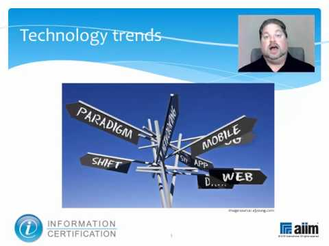 Maturity Models, Technology Trends and Internal IT Impact Analysis