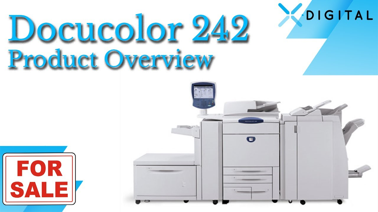 Xerox DocuColor 242 Driver Download