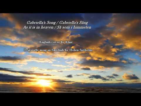 ♪ Gabriella's Song English Cover - As It Is In Heaven   Så Som I Himmelen Happy Birthday Nick! video