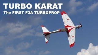 The first F3A turboprop jet turbine RC airplane Turbo KARAT, 2018