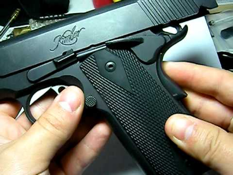1911 done right Kimber Custom  II .45acp