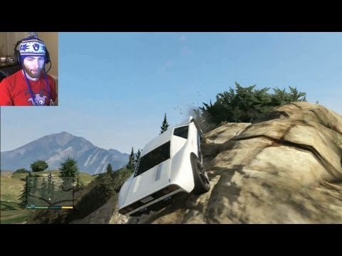 BEST GTA 5 JUMP EVER! (Grand Theft Auto 5 Ramp) by Whiteboy7thst