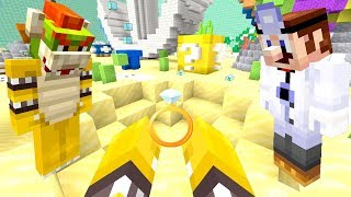 BOWSER JR FOUND THE *LOST* WEDDING RING! *1 MILLION DOLLARS!* | Nintendo Fun House | Minecraft [358]