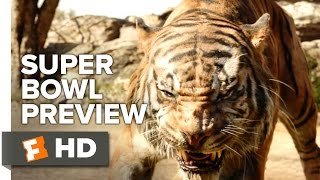 The Jungle Book Official Super Bowl Preview (2016) -  Scarlett Johansson, Idris Elba Movie HD
