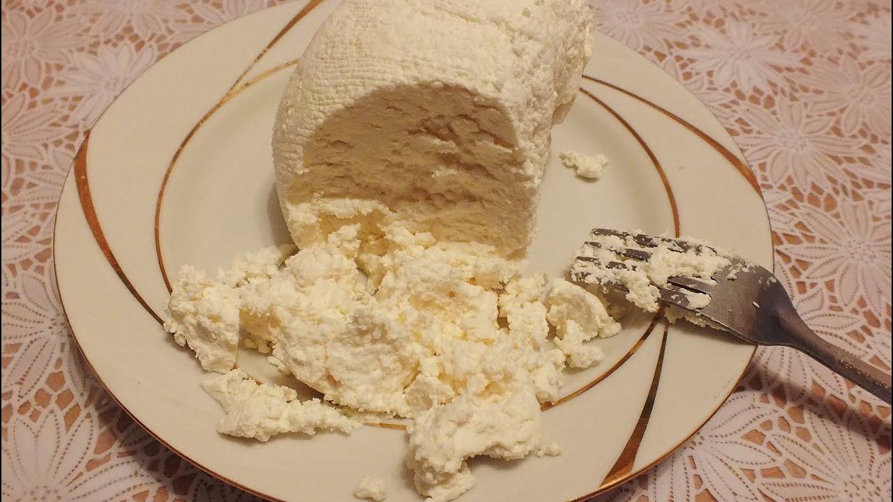 Как сделать творог из кислого молока в домашних условиях рецепт