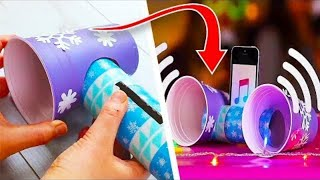 8 Easy DIY Toilet Roll Tube Crafts | Cool Crafts | Paper Crafts | Craft Factory
