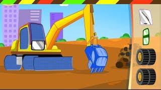 Lắp Ráp Máy Xúc Đất, Xe Cứu Hỏa, Xe Tải - Xe công trình | TopKidsGames (TKG)