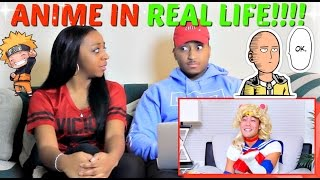 "Nigahiga ""Anime in Real Life!"" REACTION!!!"