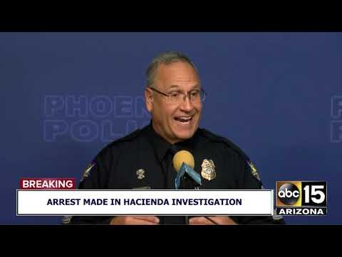 Press conference on Hacienda Healthcare assault arrest
