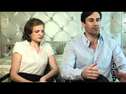 Mad Men's Jon Hamm and Elisabeth Moss, MIPCOM 2010 interview