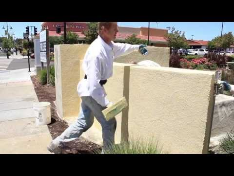 Maintenance Free Color Coating Cinder Block Walls