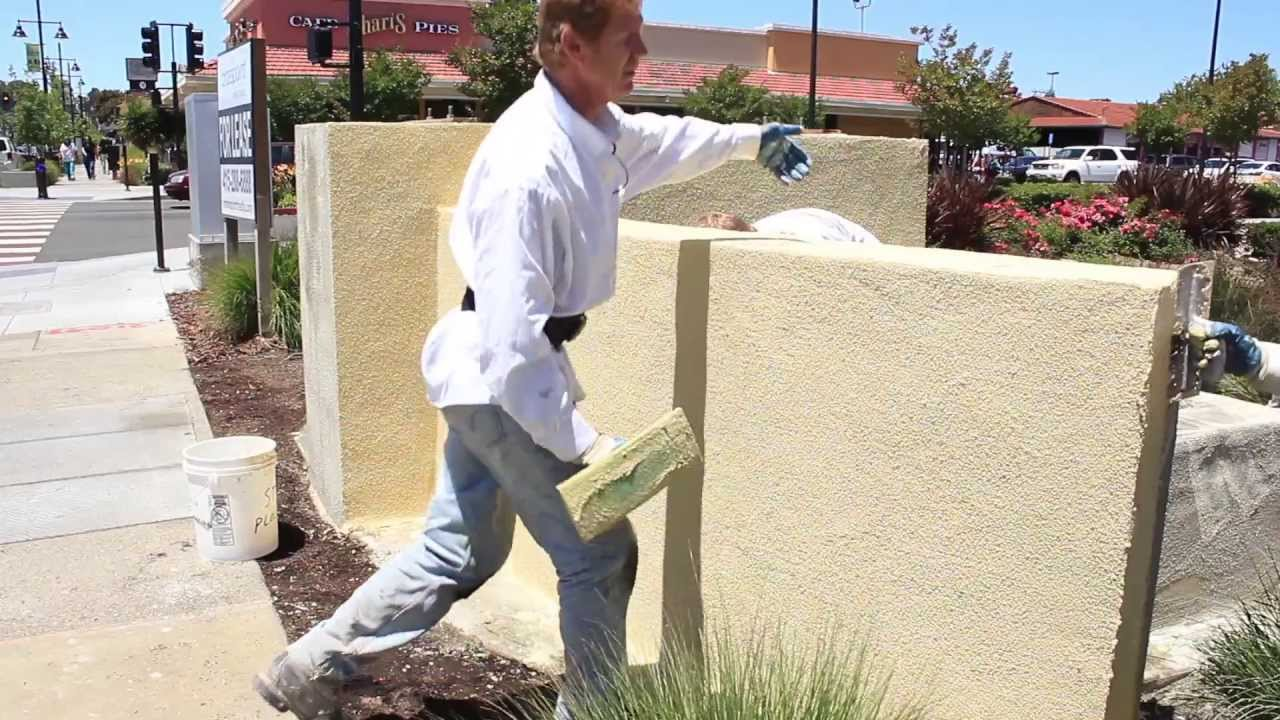 How To Prepare And Paint A Cement Block Home