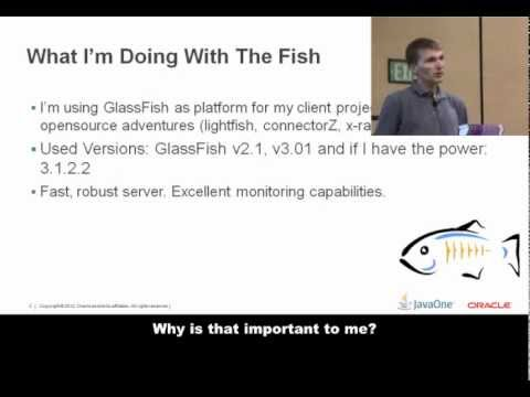 Adam Bien Testimonial at GlassFish Community Event, JavaOne 2012