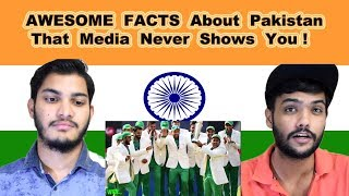 Indian reaction on AWESOME FACTS About Pakistan That Media Never Shows You | Swaggy d