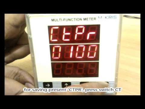 3 Phase Digital Energy (kwh) Meter - User Guide