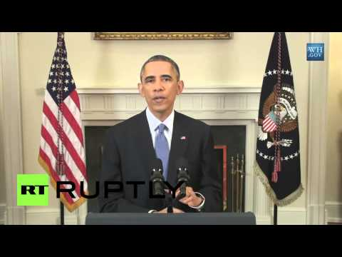 USA: Obama says police should STOP brutalising citizens.. in CUBA!