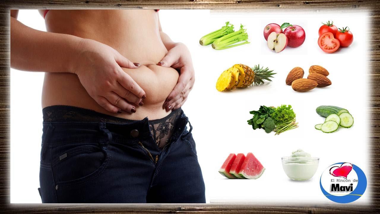 Como perder barriga - Los mejores alimentos para bajar la