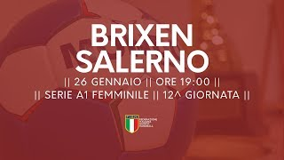 Serie A1F [12^]: Brixen - Salerno 18-20