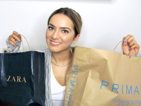 Yet Another Haul and Chat! Primark, Zara and H&M