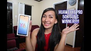 HUAWEI Y6 PRO (50K SUB'S WINNER) !!!! CONGRATULATION !!!!!