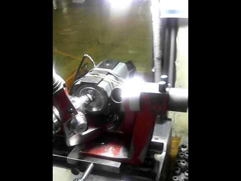 mesin asah drill carbide semi otomatis.(mc.meteor)