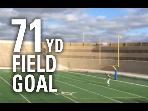 71-Yard Field Goal by Baylor College Football Commit Drew Galitz