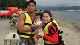 WATCH! Kylie Padilla, Aljur and Baby Alas out on a Beach AGAIN