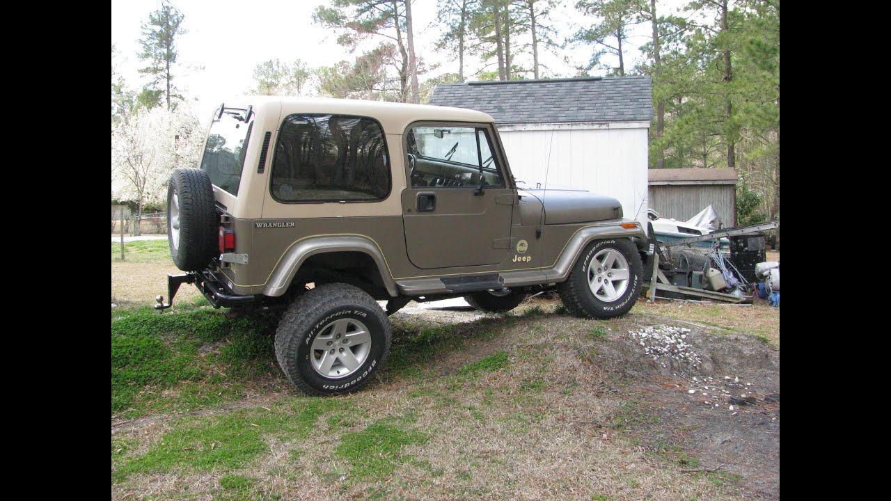 Jeep Yj Rubicon Express 2 5 Quot Standard Suspension Flex