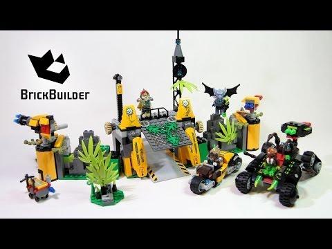 Lego Chima 70134 Lavertus' Outland Base  - Lego Speed Build