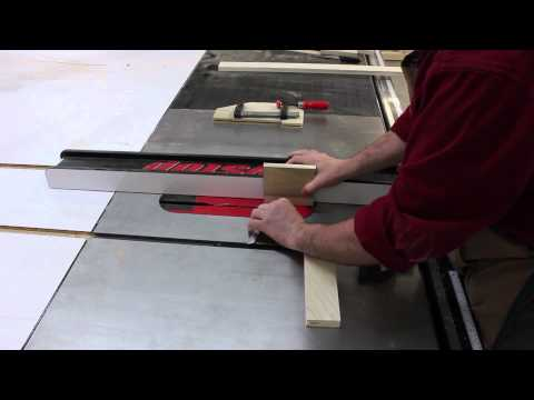 Make A Quick and Simple Cabinet Door. Solely On A SawStop