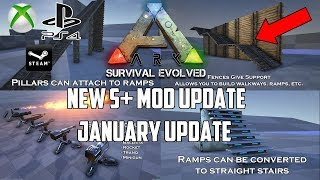 So ARK IS GETTING A NEW S+ MOD UPDATE! - HUGE JANUARY UPDATE!