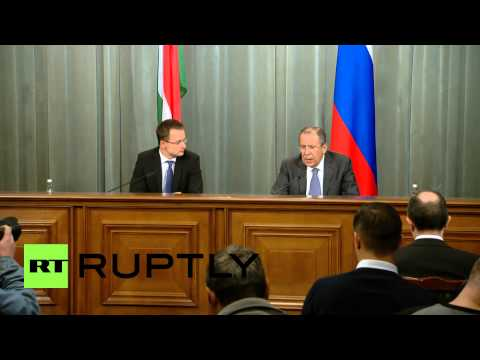 Russia: Hungary is committed to South Stream gas pipeline - Lavrov