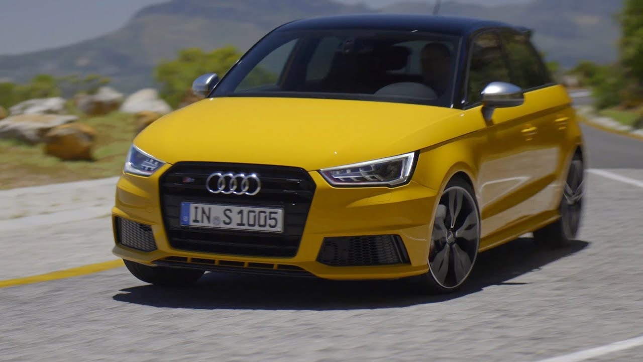 new audi s1 sportback test drive youtube. Black Bedroom Furniture Sets. Home Design Ideas