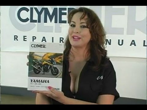Clymer Manuals Yamaha FZ1 2001- 2005 FZ1 Manual Maintenance Troubleshooting Repair Manual Video