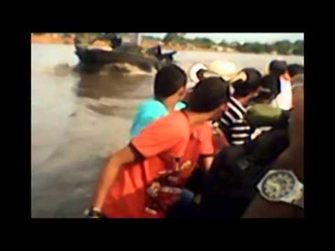 Armada ataca canoa de campesinos durante Paro Agrario