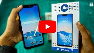 Jio mobile 3  4g unboxing in hindi on 2019 new jio mobile