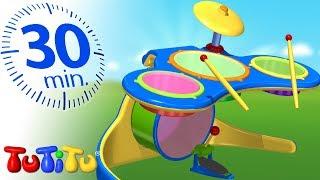 TuTiTu Specials | Drums | Best Kids Toys | 30 Minutes Special