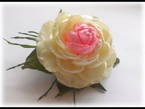 Пышная роза своими руками 133