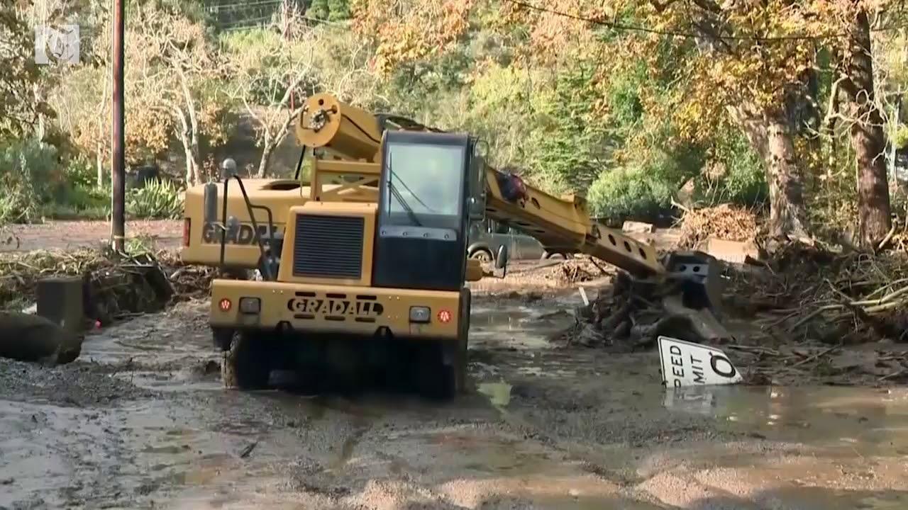 California mudslides kill at least 13 people