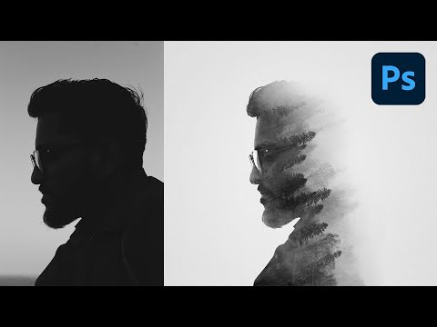 Create a Double Exposure in 74 Seconds with Photoshop