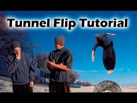 Как научиться Дакаскос за одну тренировку (Tunnel Flip Tutorial)