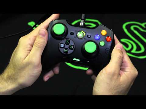 Razer Sabertooth rUnboxing Xbox 360 and PC Controller