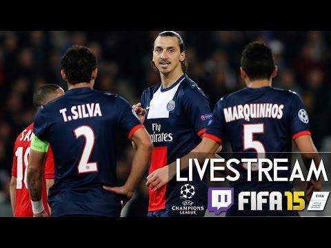PARIS SAINT GERMAIN : FC CHELSEA - Champions League | Prognosen [FIFA 15 LIVESTREAM]